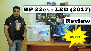 HP 22es (21.5 inc.) Full HD LED Monitor - 2017 | Best low cost Monitor | Review