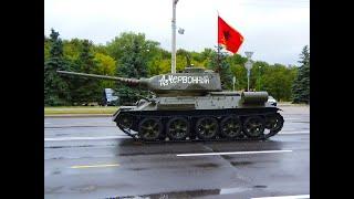 Парад военной техники. День независимости 2018. БЕЛАРУСЬ. МИНСК