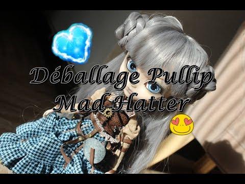 Déballage Pullip Mad Hatter In Steampunk World