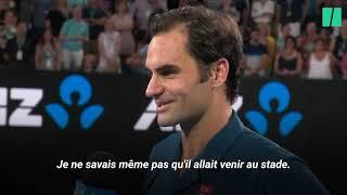 Baixar Federer s'est fait voler la vedette à l'Open d'Australie par... son fils