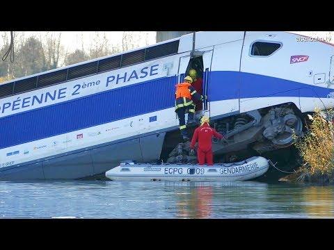 TGV Unfall Crash Eckwersheim  - Le Déraillement Du TGV D'essai Près De Strasbourg -