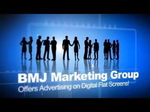 Advertisement on Digital Flat Screens