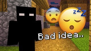 I left the Minecraft Boogeyman world on while I slept.. (BAD IDEA)