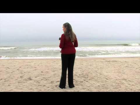 Libby at Main Beach-Fernandina Beach, Florida