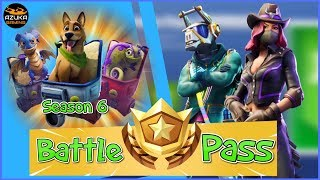 Fortnite Battle Royale New Battle Pass Bundle Season 6 | New DJ Yonder skin and much more!