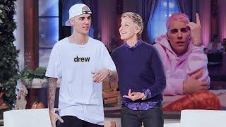 Justin Bieber on Ellen show 2020 | yummy promotion