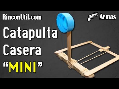 Mini catapulta casera armas caseras youtube - Como hacer una cachimba casera facil ...