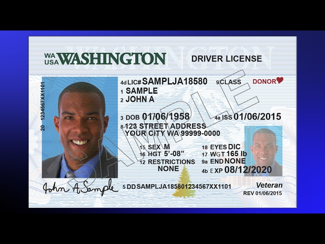 new washington driver license and id cards | licensing express