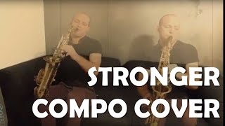 Tonio is Kenan revisite Stronger au Saxophone