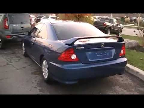 2005 Honda Civic Si Coupe Startup Engine In Depth Tour Youtube