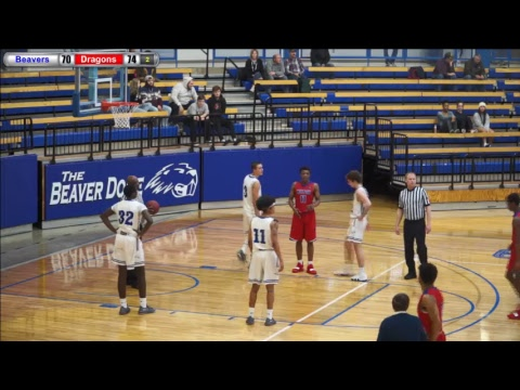 Blue Dragon Men's Basketball at Pratt