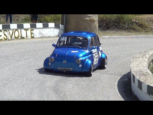SVOLTE DI POPOLI 2018 ALESSANDRO LA ROVERE FIAT 500