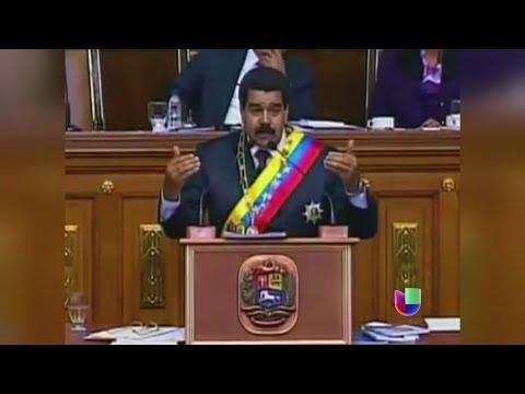 Maduro culpa a las telenovelas de la cifra de homicidios en Venezuela -- Noticiero Univisión