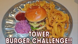 Undefeated TOWER BURGER Challenge In Blackpool!!