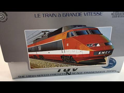 Modelling Railroad Train Scenery -Mind-Blowing BACHMANN N Scale TGV EBay Haul Attempt #2  Will It Work?