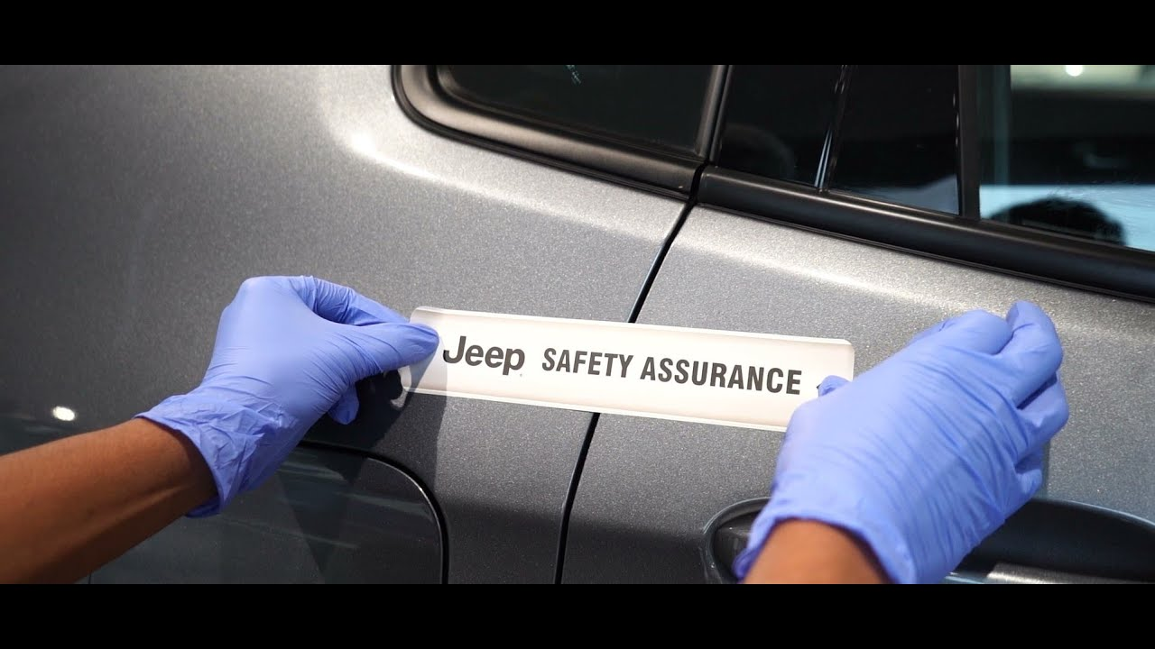 Introducing Jeep Safety Assurance Seal