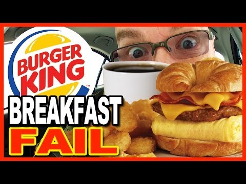 Burger King Breakfast Combo FAIL!