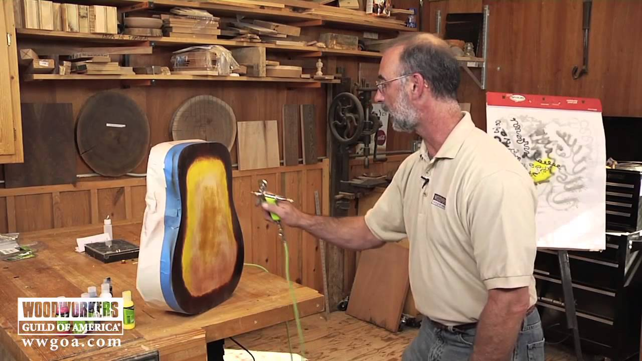 Woodworking Tools: Power Tools - Why You Need an Airbrush - YouTube