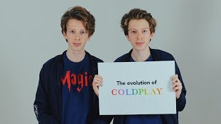 The Evolution of Coldplay in 3 minutes