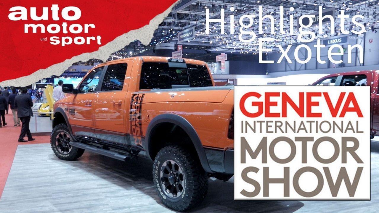 Genf 2017 - Exoten | auto motor und sport