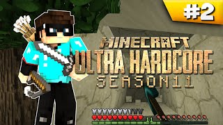 Minecraft Cube UHC Season 11: EP2 - Heard Someone? Sand? Panic! Thumbnail
