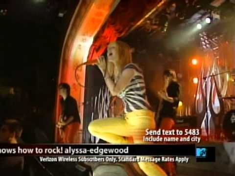 Paramore - Let the flames begin [Live@MTV Hard Rock Cafè in New York 2007]