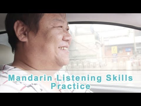 Chatting with a Beijing Taxi Driver   Mandarin Chinese Listening Challenge