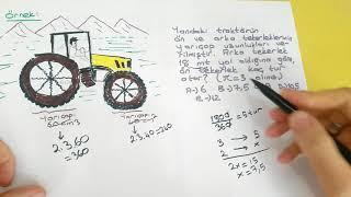ORAN-ORANTI SERİSİ-4 (ÇARK PROBLEMLERİ)
