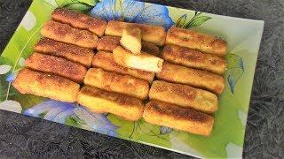 Супер вкусные сырные палочки в хрустящей корочке. Закуска за 10 минут из плавленых сырков!