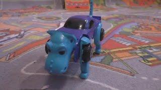 Робот машина игрушка. Открываем авторобота собаку. Unboxing Car Transformer Robot Dog Робот машина.