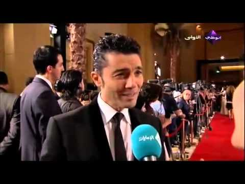 Egyptian actor Khaled Nabawy at the  of the Abu Dhabi Film Festival 2012