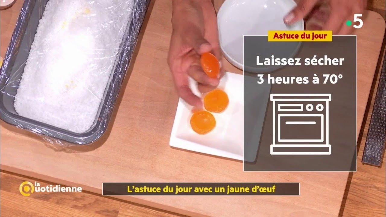 L'astuce de Farida avec un jaune d'œuf - La Quotidienne ...