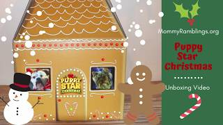 Puppy Star Christmas Gingerbread House Box Unboxing
