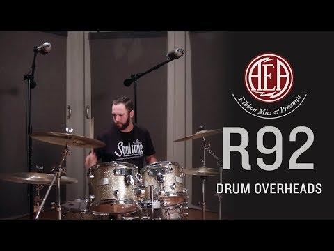 AEA R92 - Drum Overheads - Listening Library