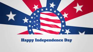 Professional Video Animation - Happy 4th Of July