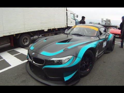 BMW Z4 GT3 E89 Test Track in Fuji International Speedway