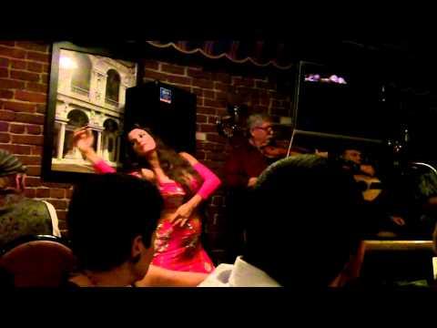Belly Dancing at Sam's Kabob Pt. 1