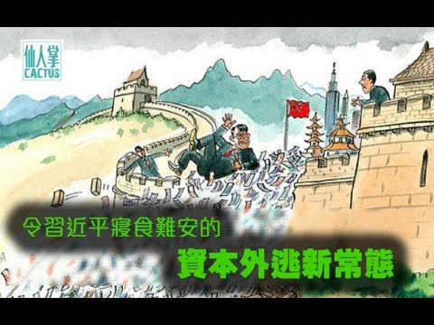 《石涛聚焦》华尔街:美元坚挺冲击中国外汇储备 当心 中国已经再现资本外逃迹象