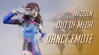 D.Va's Secret out of Mech Dance Emote