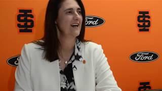Idaho State University Athletic Director Pauline Semons Thiros