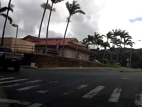 Pulling Out Of Outrigger Royal Kahana Maui Hawaii Then Going For A Drive