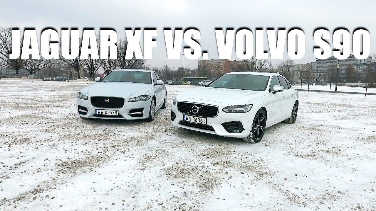Porównanie – Volvo S90 T6 Polestar kontra Jaguar XF 3.0d R-Sport (PL)