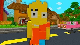 BART AND LISA SIMPSON SWITCH BODIES | The Simpsons | Minecraft Xbox