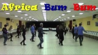 africa bum bum coreo tonino g rbl ballo di gruppo 2015