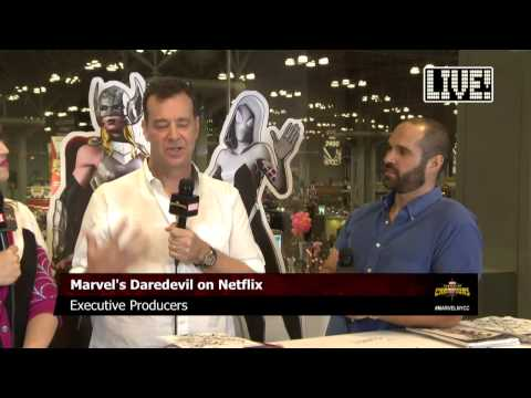 Marvel's Daredevil Executive Producers stop by Marvel LIVE!