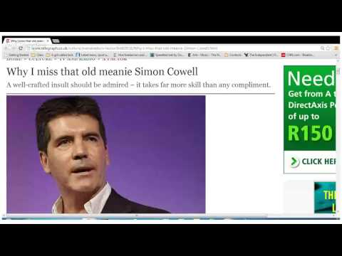 Why I miss that old meanie Simon Cowell