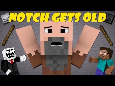 If Notch Was Old - Minecraft