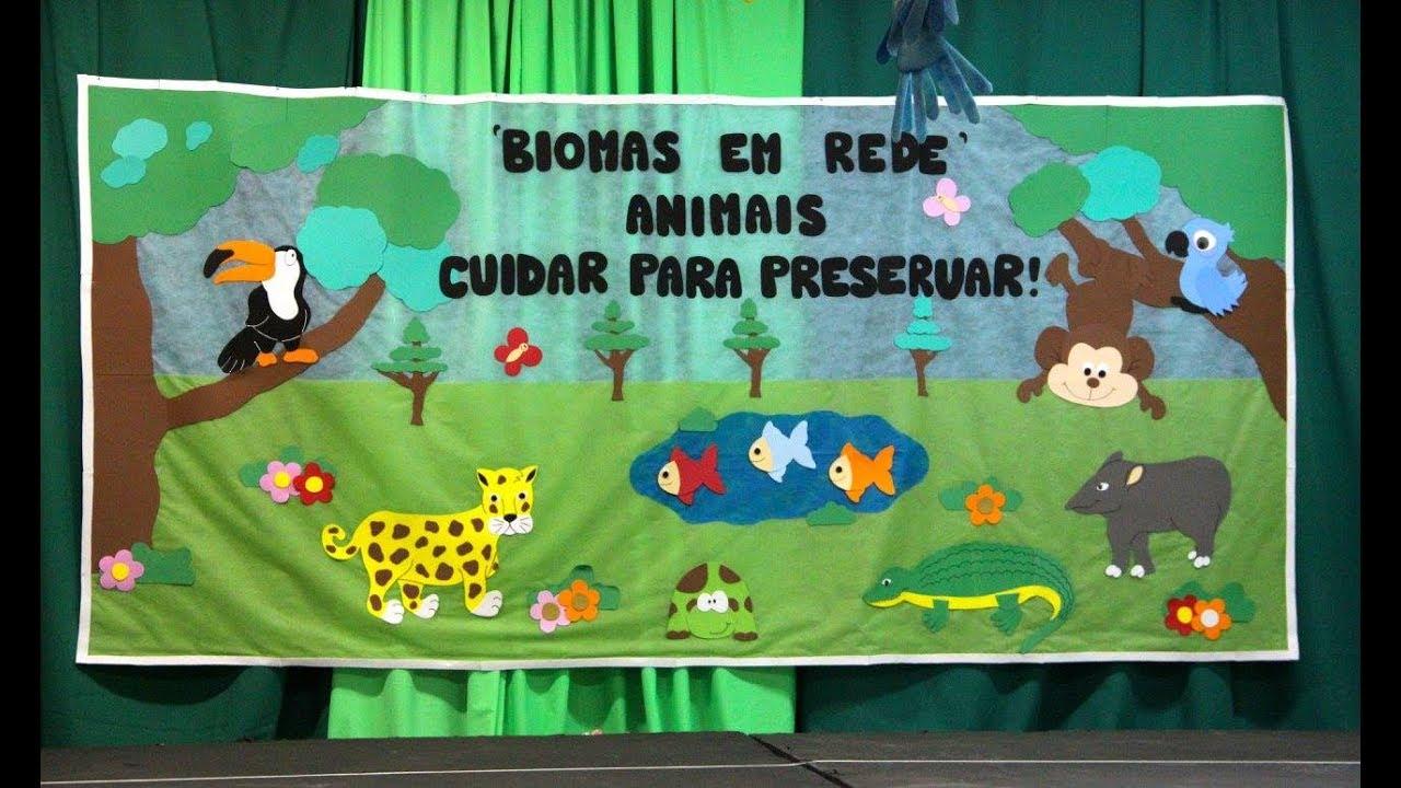 """Populares Educação Infantil promove culminância do Projeto """"Biomas em Rede  GW51"""
