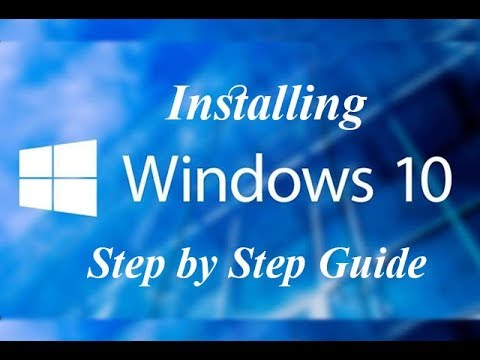 Installing Windows 10 Step by Step Guide