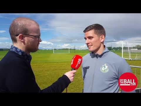 Shamrock Rovers' David McAllister relishing EA Sports Cup final